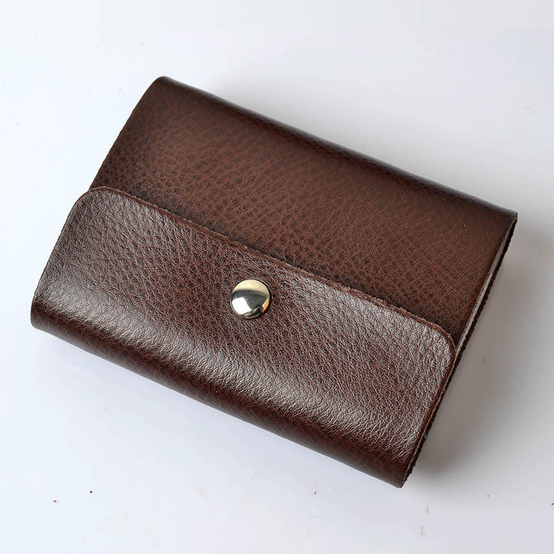 Cowhide card holder Women and men 39 s card holder custom bank holders business 26 Card Slots card holders in Card amp ID Holders from Luggage amp Bags