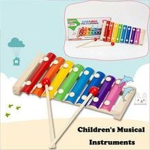 Новые красочные детские музыкальные инструменты pudcoco милый