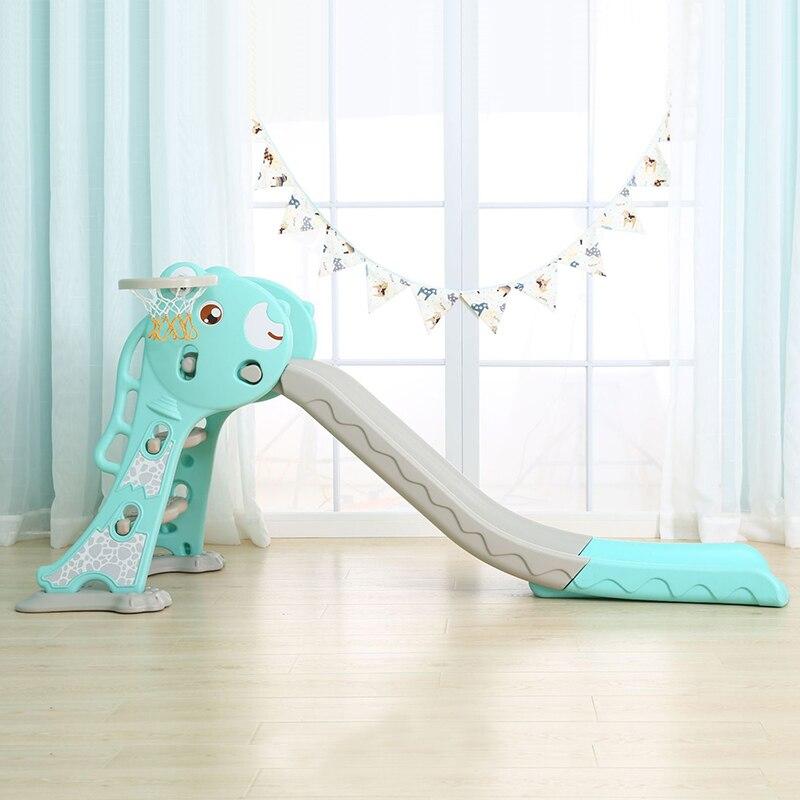 Bébé Toboggan Jouet Jeux Pour Enfants Intérieure Coulissante Extérieure Étang Jouets Bébé Activité Gym Enfants Pliage Glissante Dip
