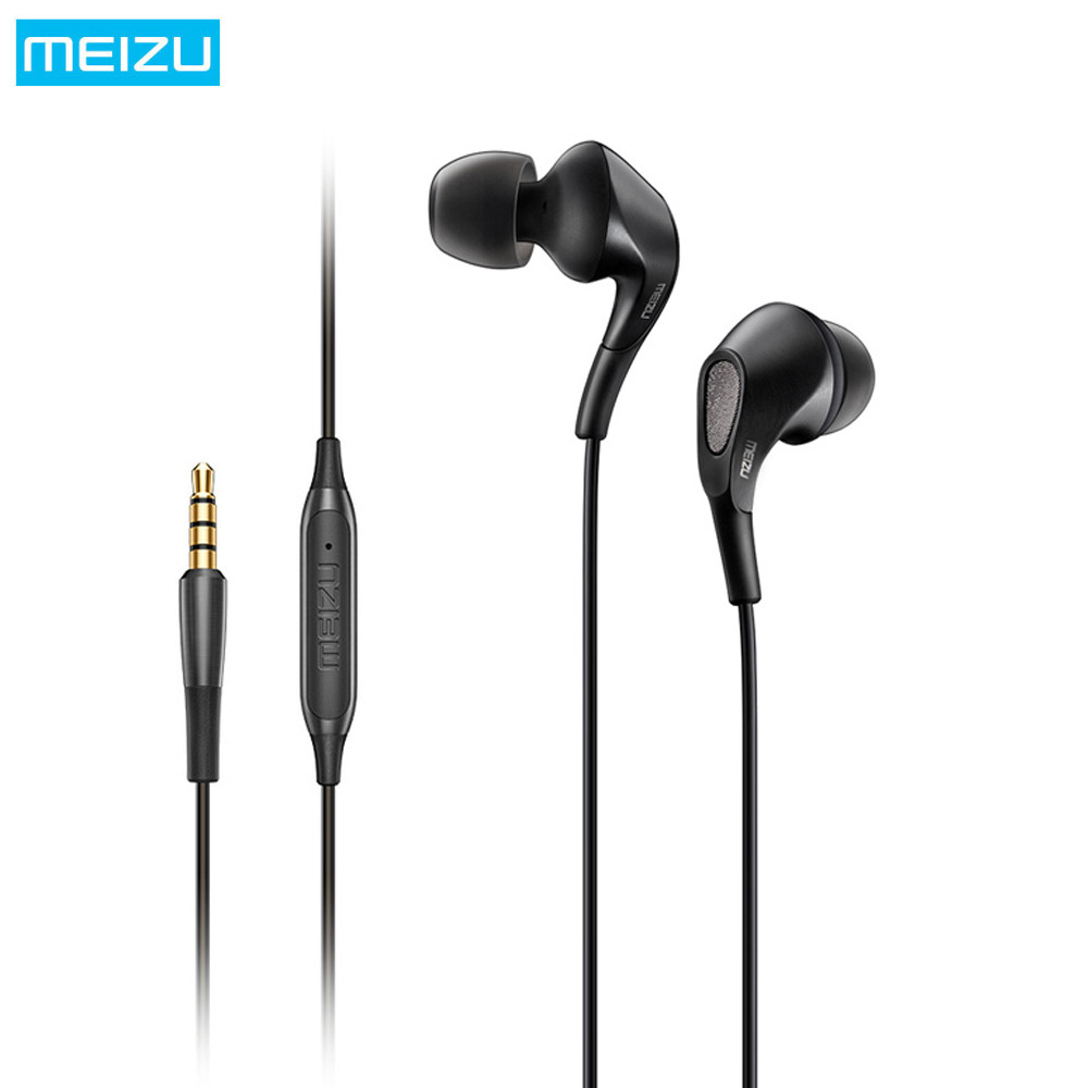 MEIZU Flow Earphones Three Hybrid Units In-Ear HiFi Earphones With Mic 3.5mm Voice Control 105dB 32ohms Gaming Sport Earphone бра cl418321 citilux page 1
