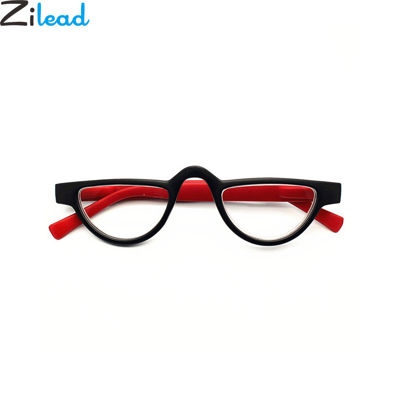 Zilead Cat Eyes Small Frame Reading Glasses For Women Clear Lens Presbyopia Hyperopia Eyeglasses With Diopter+1.0to+4.0