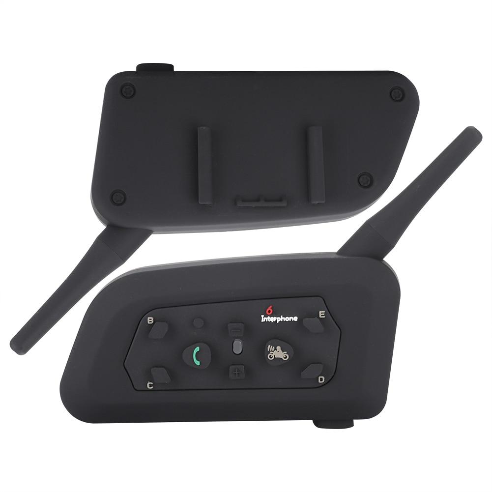 1200 Meters Wireless Intercom Helmet Interphone Bluetooth Headset Waterproof Sunscreen Dust-Proof For Motorcycle Riders