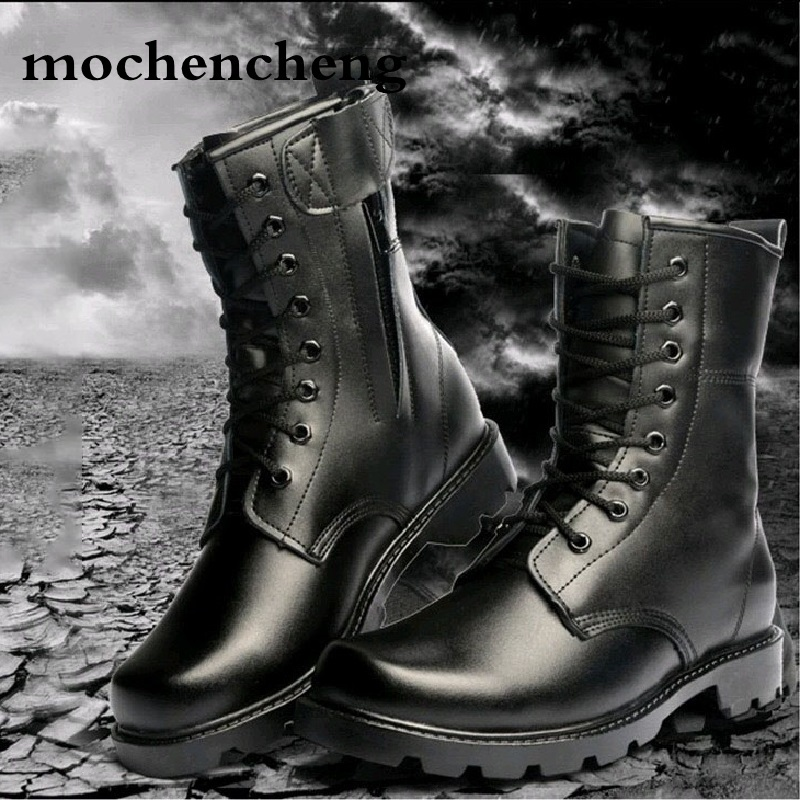 Winter Men Military Boots Special Force Tactical Desert Combat Ankle Boats Army Work Shoes Men with Fur Keep Warm Snow Boots