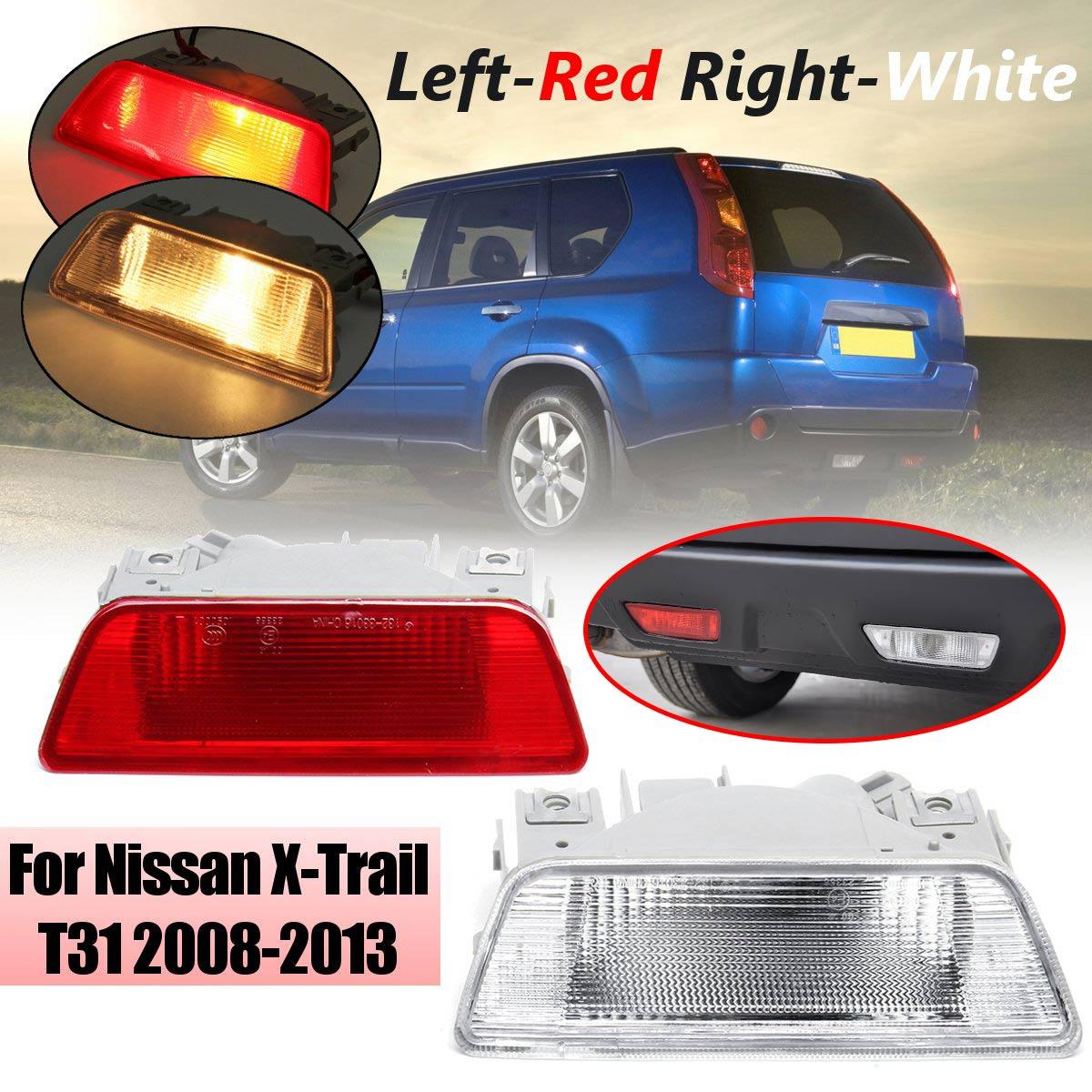 Left Right Tail Light font b Lamp b font Rear Bumper Tail Light Fog font b