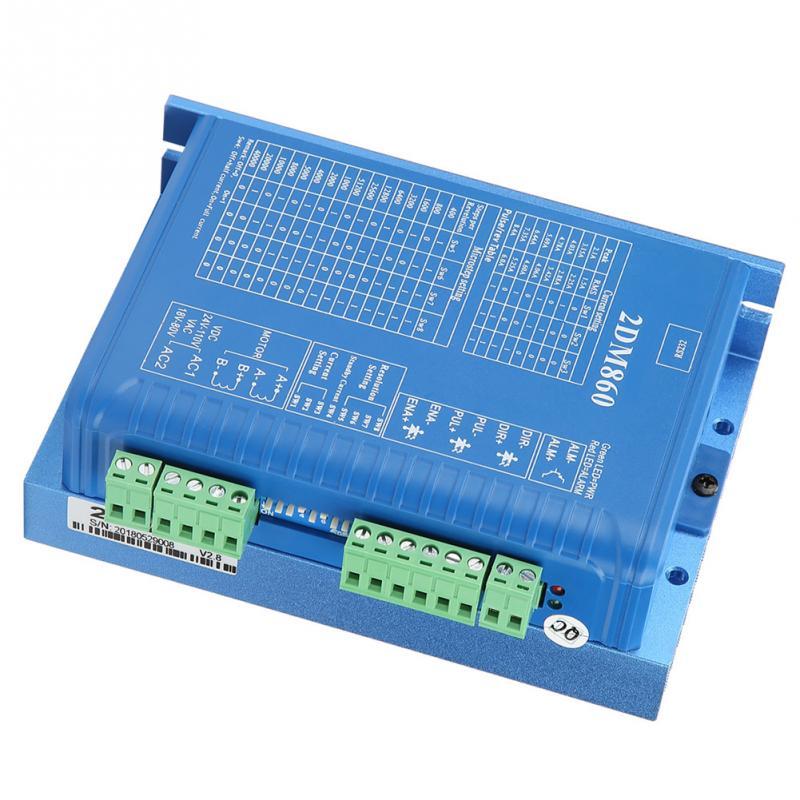 2DM860 Stepper Motor Controller Driver For CNC Router Engraving Machine 32 bit DSP control Stepper Motor