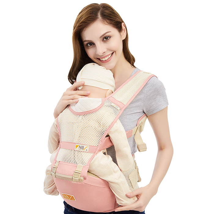 Summer Style 360 Degree Breathable Baby Waist Stool Front Facing Baby Carrier Infant Comfortable Sling Backpack Pouch HipseatSummer Style 360 Degree Breathable Baby Waist Stool Front Facing Baby Carrier Infant Comfortable Sling Backpack Pouch Hipseat