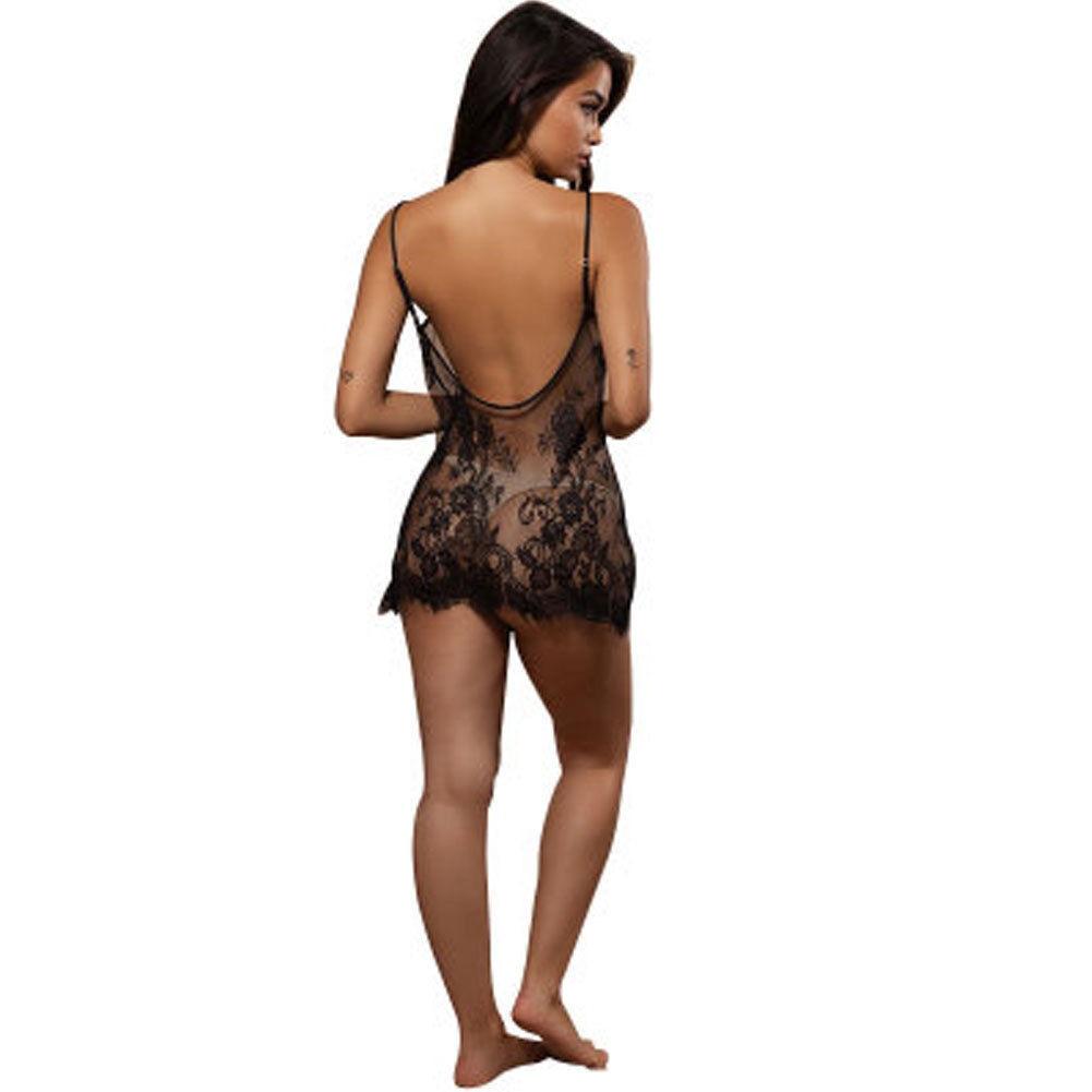 Women Lace Sexy Lingerie Nightwear Underwear G-string Babydoll Sleepwear Dress 5