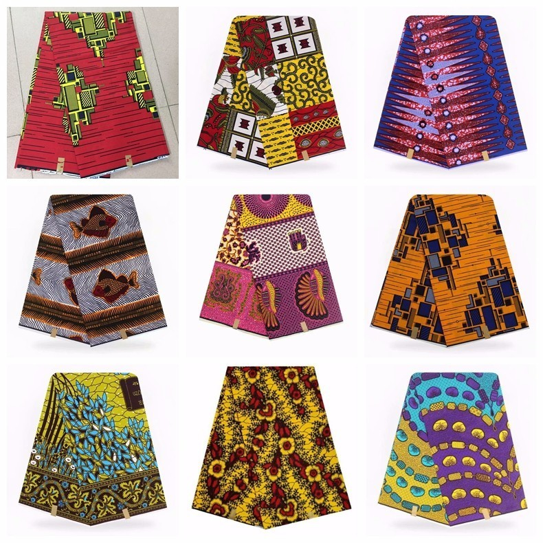 WAX PAGNE Tissu Africain Collection Type /« Soft Coton /» Coupon 6 Yards r/éf AS