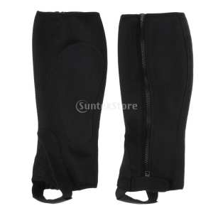 Boots-Cover Equestrian Half-Chaps Horse Riding Children for Adults Outdoor Leg-Guard-Gear