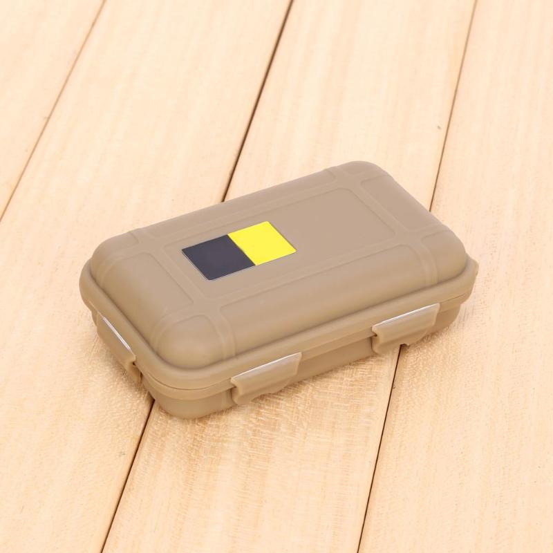 Waterproof Shockproof Plastic Outdoor Survival Container Storage Case Carry BoxS