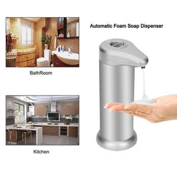 Touchless Soap Dispenser | 300ml Touchless Automatic Soap Dispenser Infrared Sensor Liquid Soap Container Aluminum Alloy Liquid Soap Dispenser