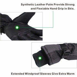 Image 3 - KIM YUAN Ski Snowboard Winter Gloves   Waterproof,3M Thinsulate, Cold Weather Gloves for Men & Women
