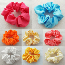 купить Fashion Soild color Girls Hair Rope Classical Headwear Hair Holder Ponytail High Quality Hair Tie Hair Accessories недорого