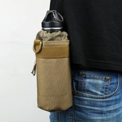 MagiDeal открытый Тактическая Военная облегченная модульная система переноски снаряжения бутылка для воды сумка мешочек-держатель для