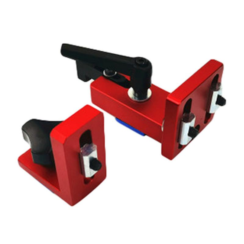 35/45 T-Slot Miter Track Stop Sliding Miter Gauge Fence Connector Rail Retainer Chute Locator For Milling Woodwork