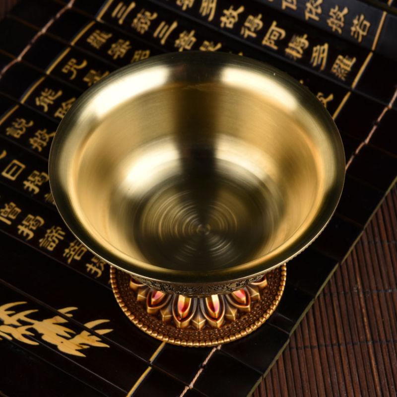 Tibetan Engraved Offering Bowl 2