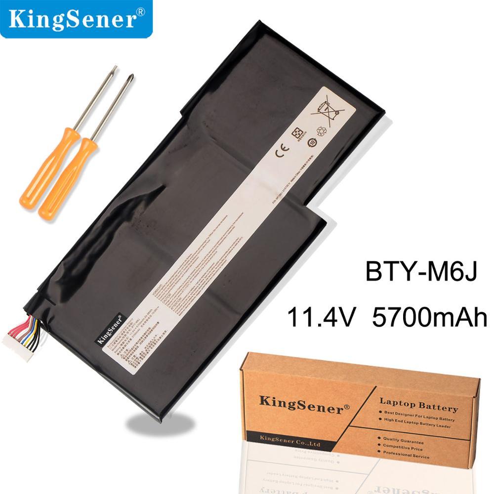 KingSener New Bateria Do Portátil Para MSI BTY-M6J GS63VR GS73VR 6RF-001US BP-16K1-31 64.98WH 9N793J200 Tablet PC 11.4 V 5700 mAh