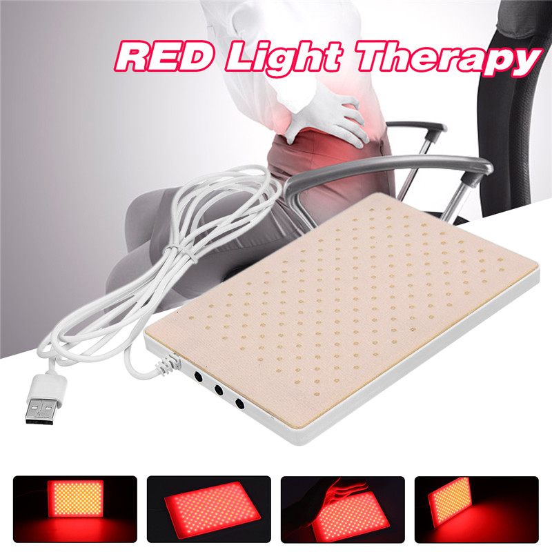 Infrared LED Therapy Pad Dual Light Deep Penetration For Pain Relief Safe, Effective, Easy, Aids Healing, Circulation