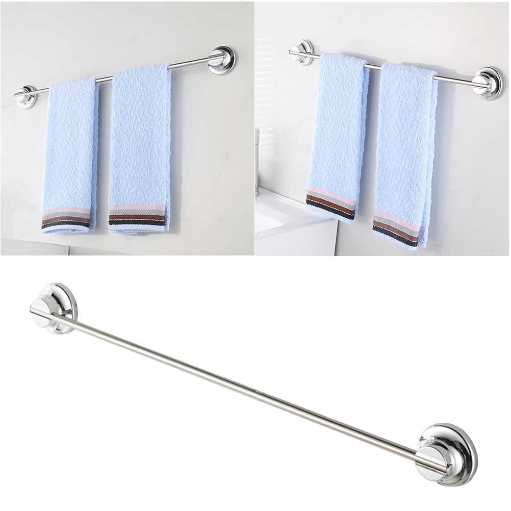 1 قطعة 40 سنتيمتر الفولاذ الصلب Portative الفضة دائم منشفة قضيب للحمام المنزل منشفة مطبخ شنقا