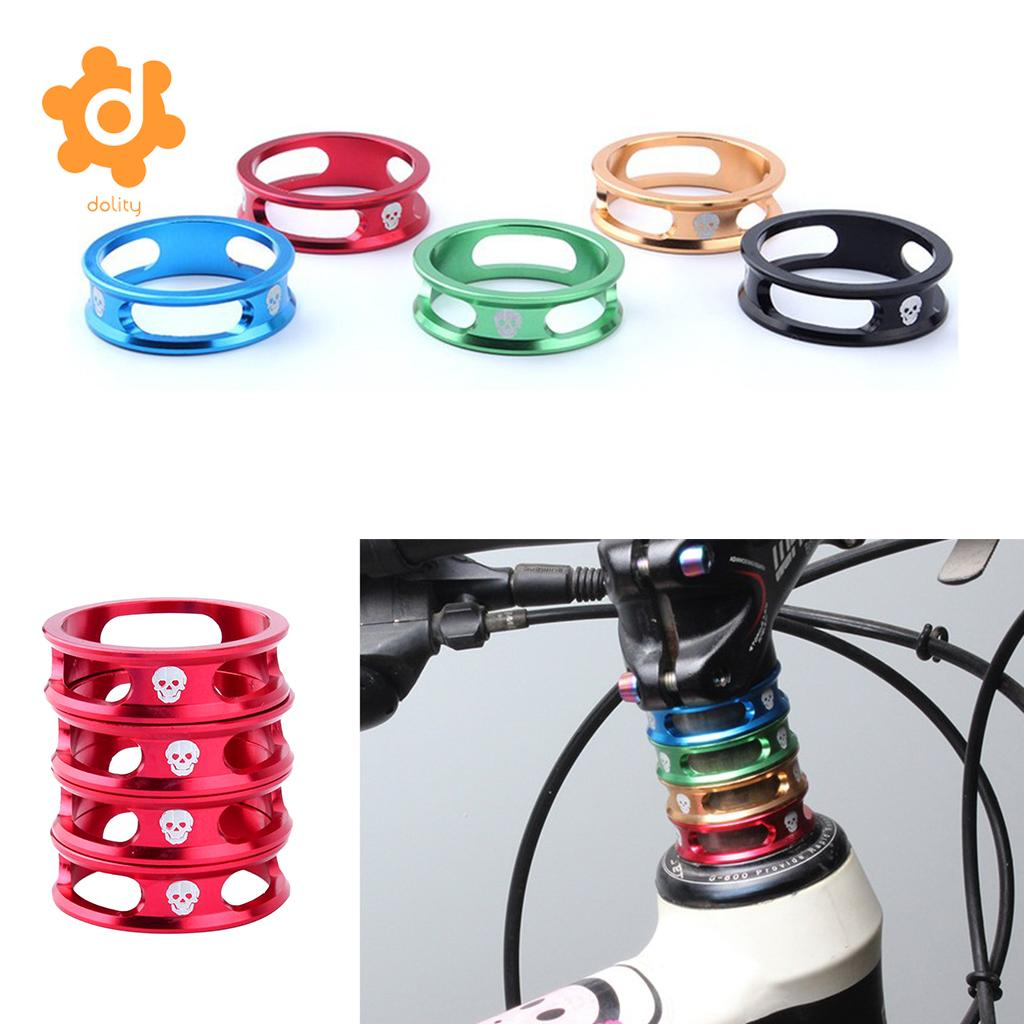 "Alumnium Alloy Mountain Road Bike Bicycle Cycling Headset Stem Spacer 1//8/""28.6mm"