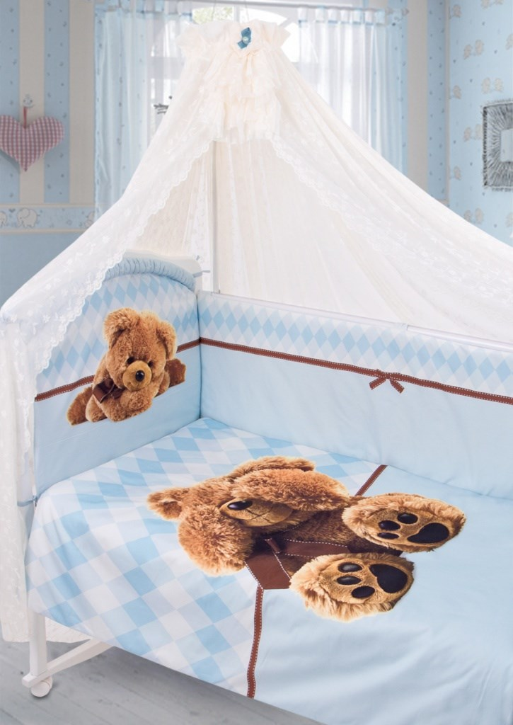 174 Set in the cot I hid Satin (1742 blue)