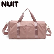 Women Travelling Bag Nylon Bags Woman Portable A Short Trip Light Dry And Wet Separation Swimming Yoga Large Capacity