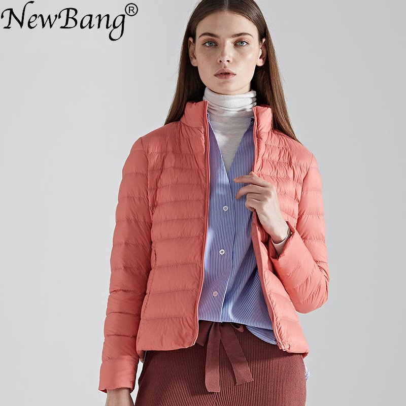 NewBang Brand   Down     Coat   female Ultra Light   Down   Jacket Women Lightweight Warm Slim   Down     Coat   Portable ladies   Coats