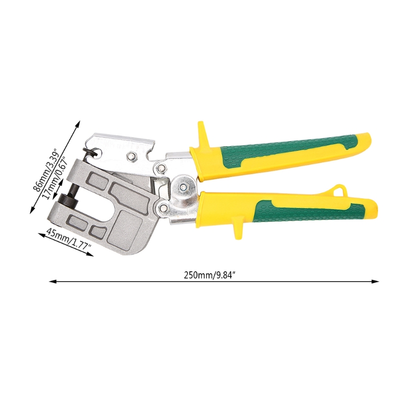 Aluminum Alloy 10inch Handle Stud Crimper Pliers Plaster Board Drywall Tool For Fastening Metal Studs High QualityAluminum Alloy 10inch Handle Stud Crimper Pliers Plaster Board Drywall Tool For Fastening Metal Studs High Quality