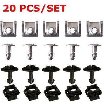20PCs/Set 8D0805960 8D0805121 Under Engine Gearbox Cover Screw for VW Passat B5 for Audi A4 A6 Models 1