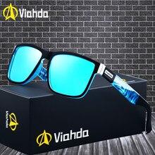 Viahda 2021Popular Brand Polarized Sunglasses Men Sport Sun Glasses For Women Travel Gafas De Sol