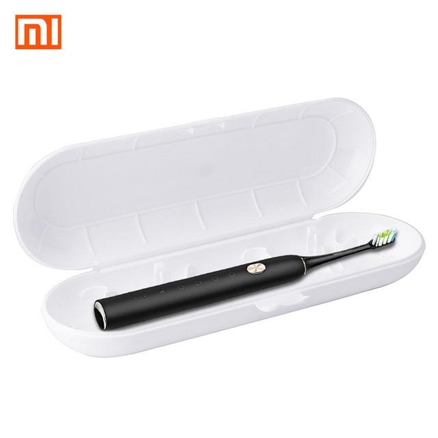Xiaomi Medio ambiente PVC titular de cepillo de dientes de viaje caso eléctrico cepillo de dientes de almacenamiento caja blanca para SOOCARE SOOCAS X3