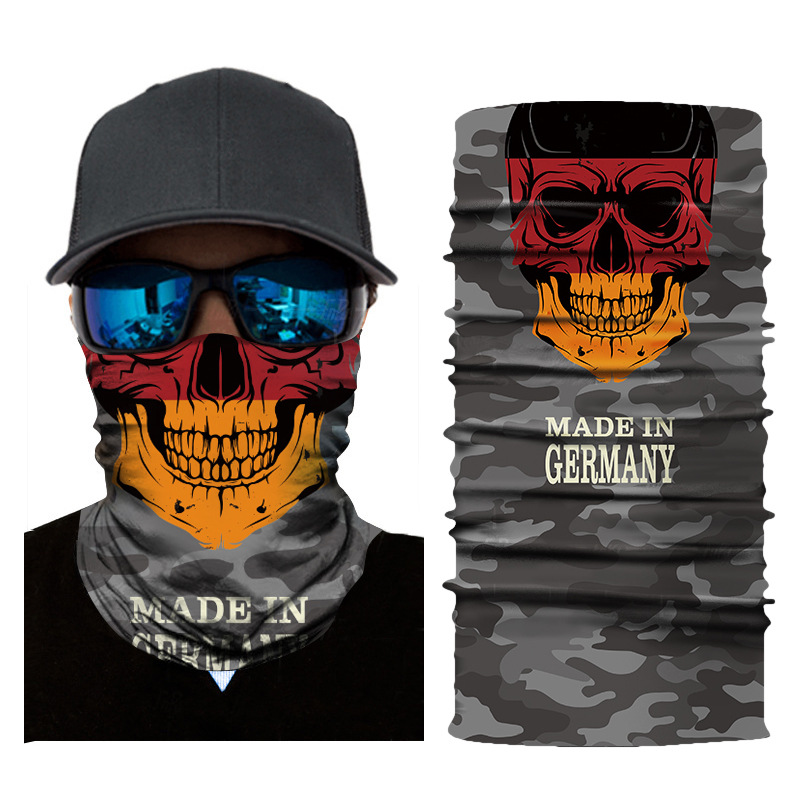 Hiking Scarf Sport Headwear Men Women Reversible Bandanas Motorcycle Turban Hand Band Magic Scarves Outdoor Cycling Headband