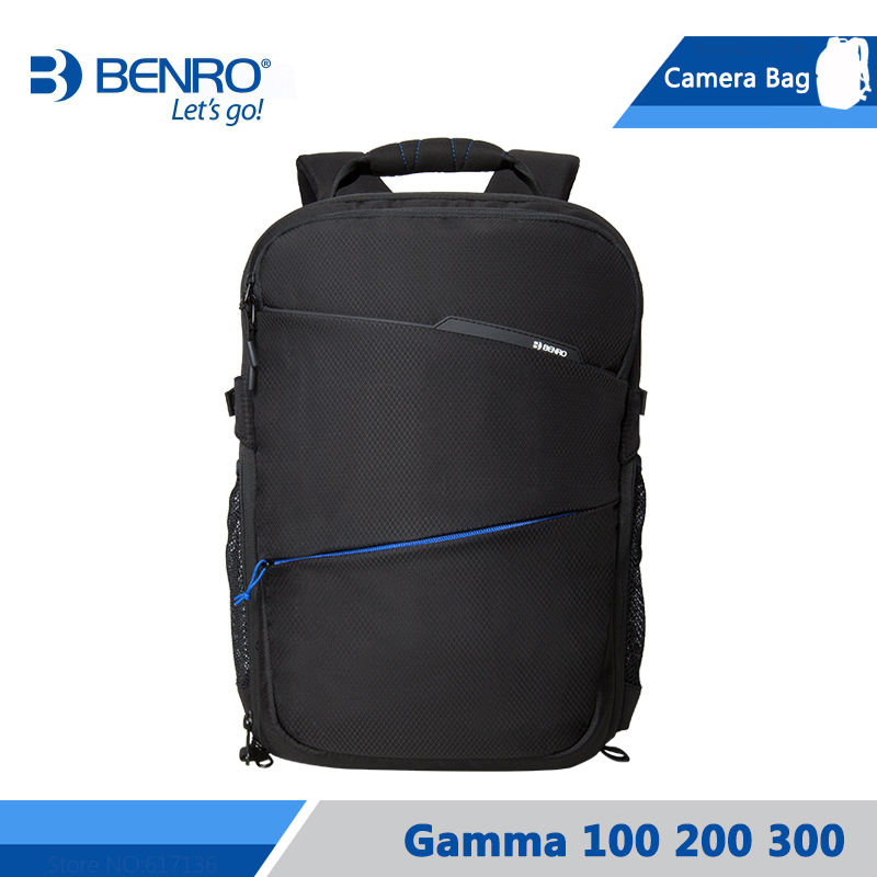 Benro Gamma 100 200 300 Camera Backpack For Tripod Notebook Video Photo Bags Large Size Soft