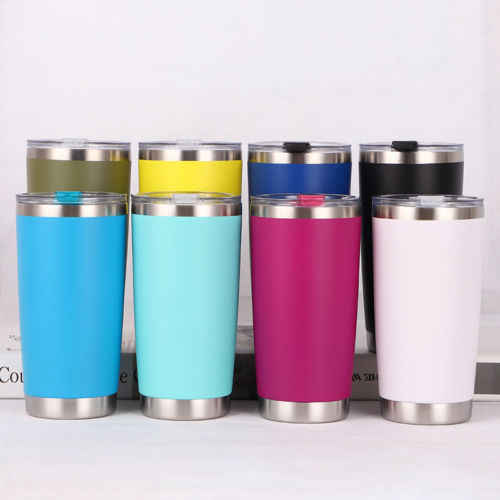 Faroot 20oZ Stainless Steel Tumbler Vacuum Double Wall Insulation Travel Mug Cup Coffee Thermoses Travel Portable Cup