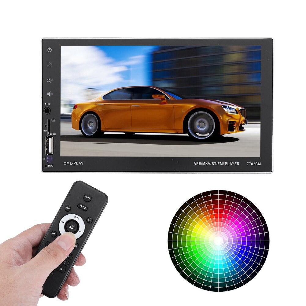 Mp4 Player Tragbares Audio & Video Vereinigt Tragbare 7702 Cm 7,0 Zoll Hd Auto Stereo Mp5 Player Gps Navigation Freisprecheinrichtung Neue Musik Video Player Reinweiß Und LichtdurchläSsig