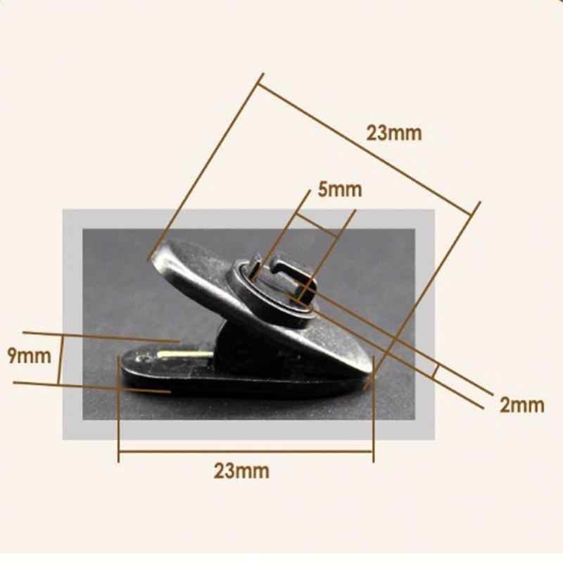 10 sztuk słuchawki zaciski kablowe przewód słuchawek przewód kołnierz Nip uchwyt zaciskowy do montażu na organizator słuchawki drutu uchwyt zaciskowy Lapel klip