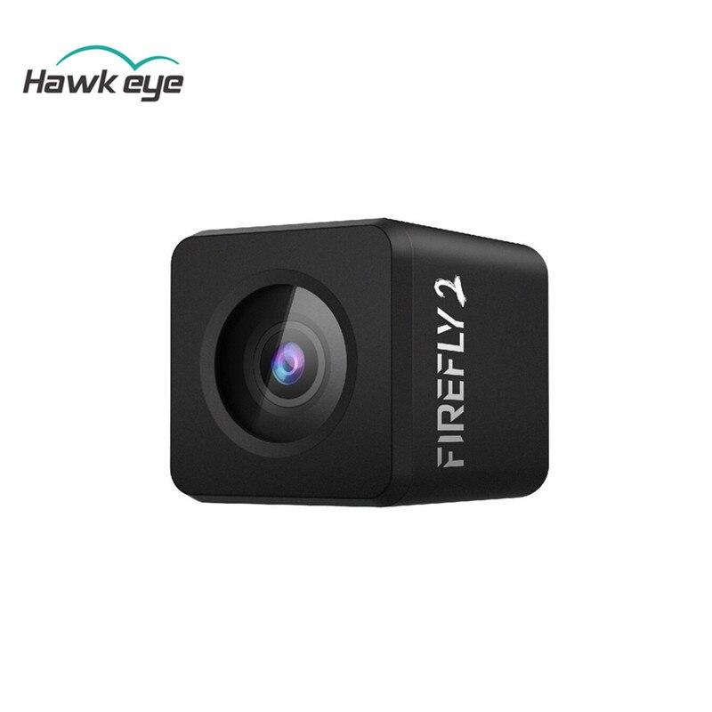 Hawkeye luciole Micro Cam 2 160 degrés 2.5 K enregistrement HD batterie intégrée faible latence FPV caméra d'action pour avion Drone RC