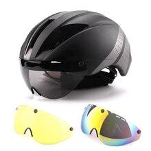 линзами пробный с шлем