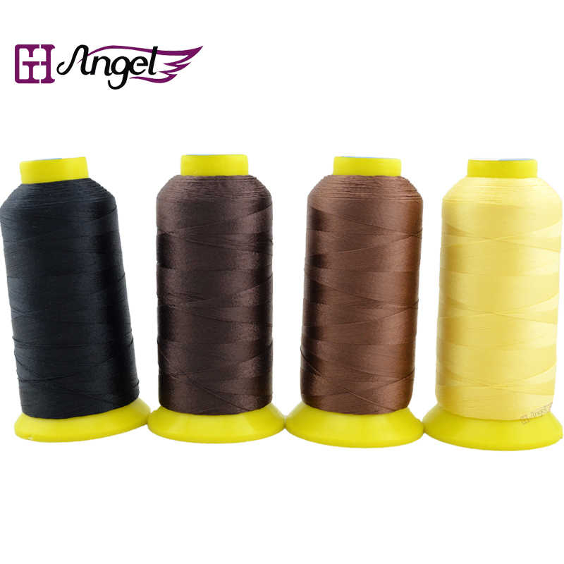 1pc/sprool 210D super strong 1500m sewing thread for hair extension Weft Weaving Thread/ High Intensity Polyamide Nylon Thread
