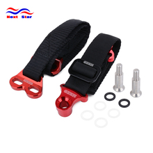 Motorcycle Red Front & Rear Rescue Bundle Tie Lead Band For HONDA KAWASAKI YAMAHA YZ YZF WR WRF KX KXF KLX Dirt Bike motorcycle front rear rescue pull strap sling belt for honda yamaha kawasaki cr crf yz wrf250 wrf450 kx kxf klx dirt pit bike
