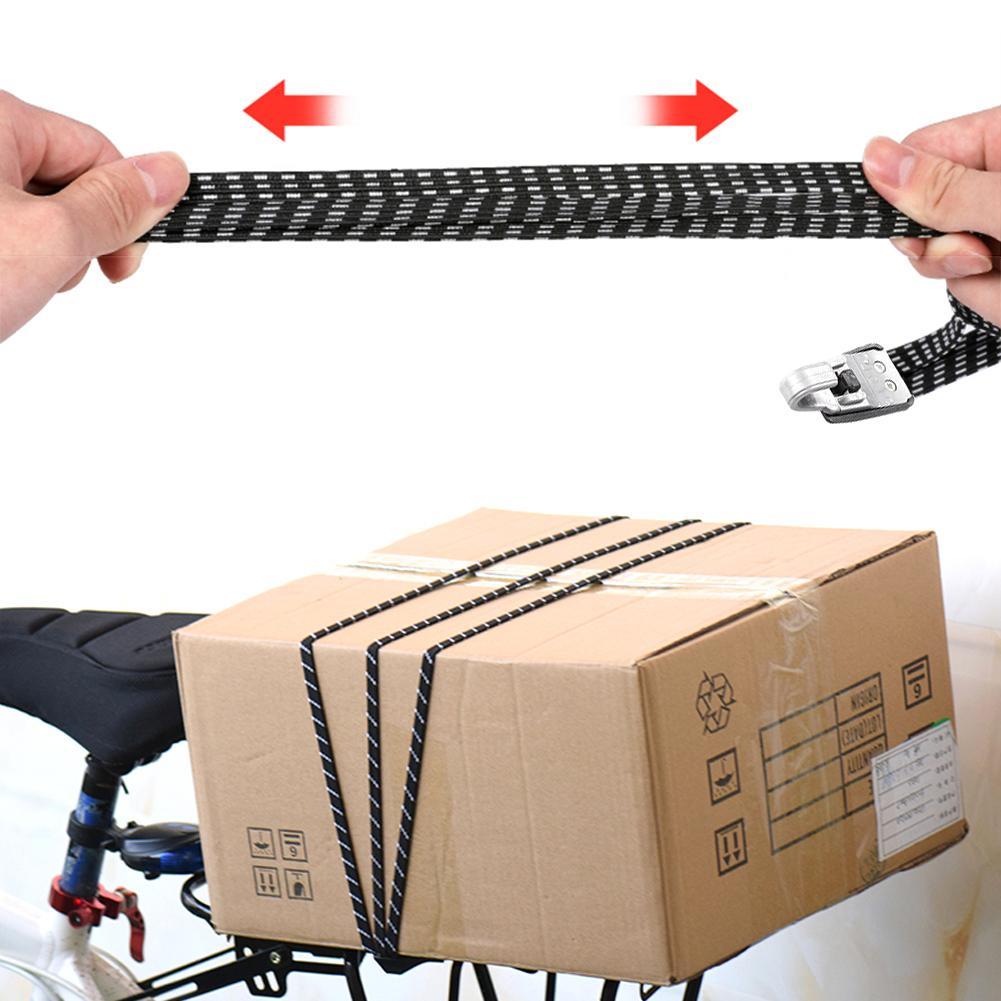 70cm Elastic Bike Luggage Rope Bicycle Accessories Cycling Hooks Bandage Belt Box Packing Rope Tie Equipment Bike Accessory Tool