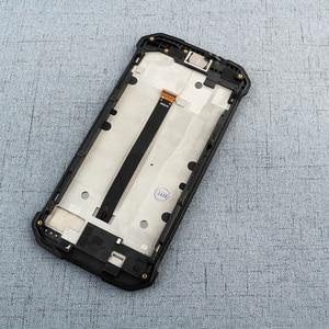 Image 3 - ل Blackview BV9500 Bv9500 زائد شاشة الكريستال السائل و شاشة تعمل باللمس مع استبدال الإطار أدوات فيلم ل Blackview BV9500 برو 5.7