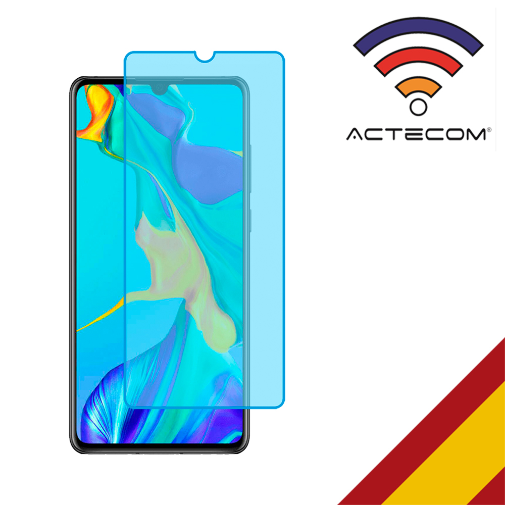 ACTECOM Cristal Templado Protector Pantalla 0,2 MM Para Huawei P30 PRO 0,3mm 9H 2.5D Vidrio Premium Tempered Glass Screen For