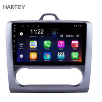 Harfey Android 6.0/7.1/8.1 92Din Car Radio For Ford Focus Exi AT 2004 2005 2006 2007 2008 2009 2010 2011 GPS Multimedia Player