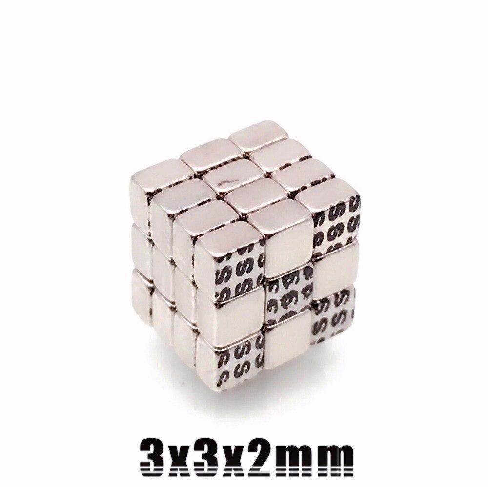 2000pcs 3x3x2mm Super strong neo neodymium 3mmx3mmx2mm magnet 3x3x2 NdFeB magnet 3 3 2mm 3mm x