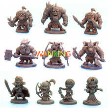 1/72 plastic Role-playing Games model Run Group Arcadia Quest Explore Alexandre Arcady Second Wars Basics Edition Monster