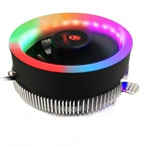 Image 2 - Кулер для ПК S SKYEE, светодиодный вентилятор для охлаждения процессора с синей апертурой, тихий радиатор для Intel 775/1156 для AMD AM2 AM2 + AM3 AM3 +