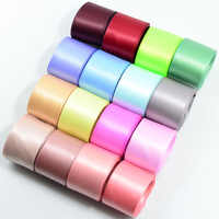 fityle 16 Colored Set Double Sided Faced Satin Ribbon for Party Wedding Decoration Gift Packaging Decorating 25mm