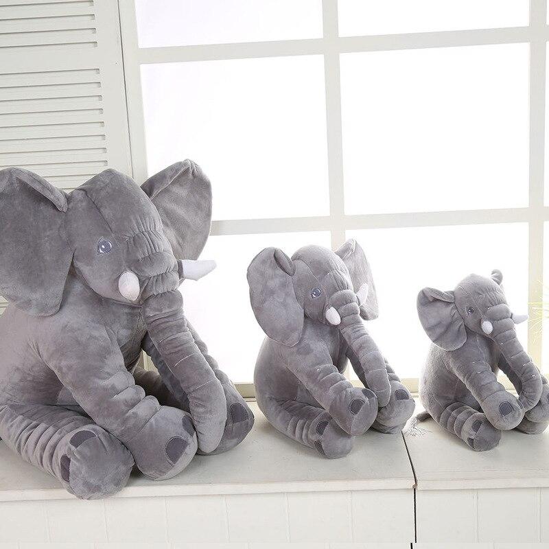 1pcs Hot Selling Elephant Pillow Plush Toys Baby Sleep