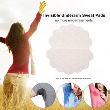 Underarm Sweat Pads Invisible Armpit Sweat Pads Disposable Dress Shields Sweat Guard Protector for Women & Men(China)